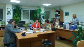 2. Work in the office